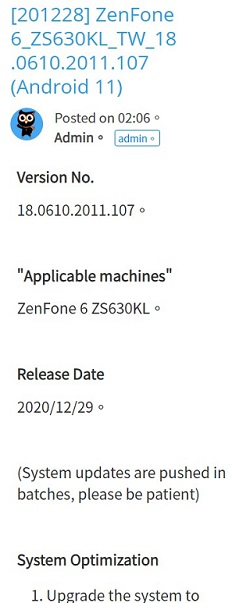 Asus-ZenFone-6-Android-11-update-Asus-6z