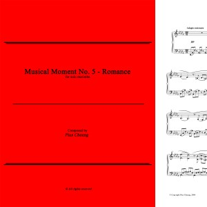 Musical Moment No. 5 (solo marimba)