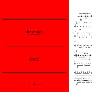 Nian 3 (solo bass drum)