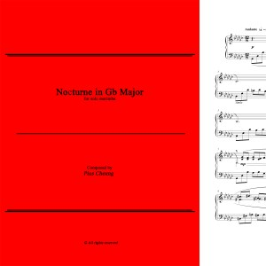 Nocturne in Gb Major (solo marimba)