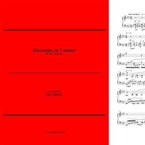 Nocturne in f minor (solo marimba)