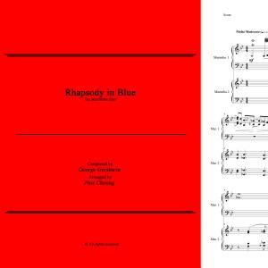 Rhapsody in Blue (arr. for marimba duo)