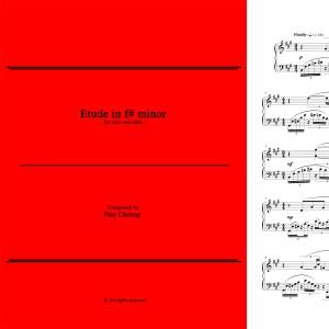 Etude in f# minor (solo marimba)