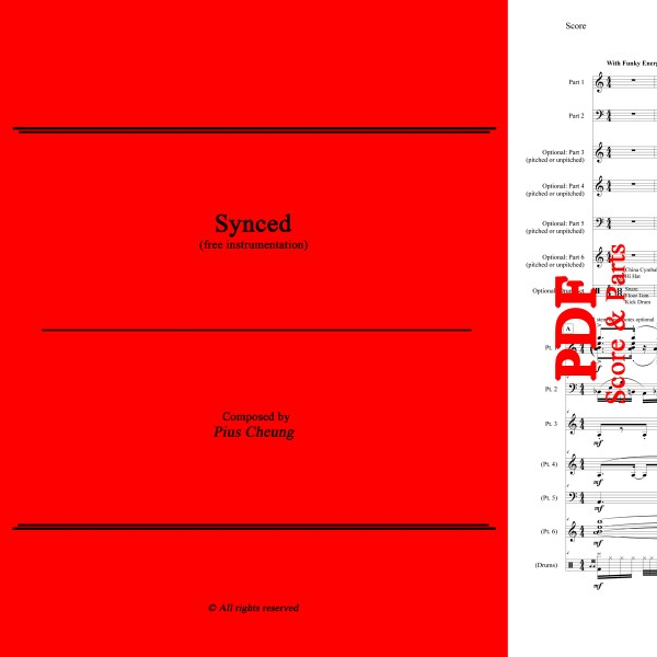 Synced (free instrumentation), Pius Cheung