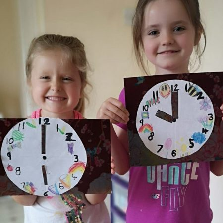 """Lara Sr Inf Ms Godson """"Learning to tell the time"""""""