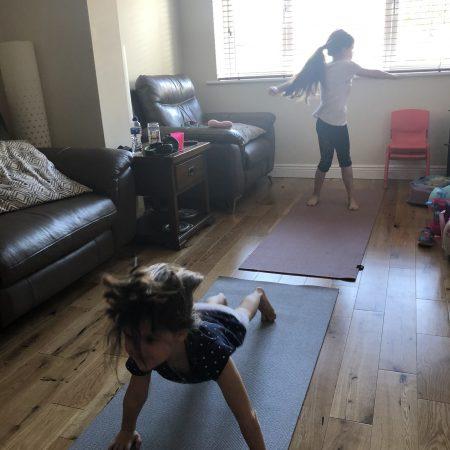 "Zara JI Ms. McCarthy ""Keeping active with some yoga"""
