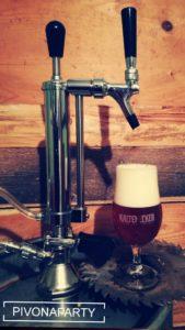 Výčapné zariadenie - pipa na capovanie piva