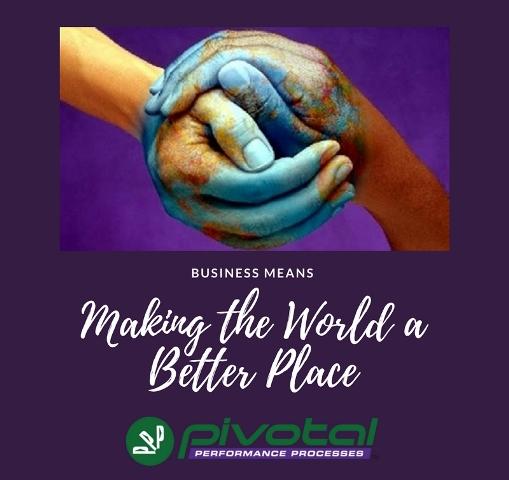 making world a better place