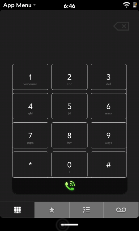 The phone app is coming along nicely.