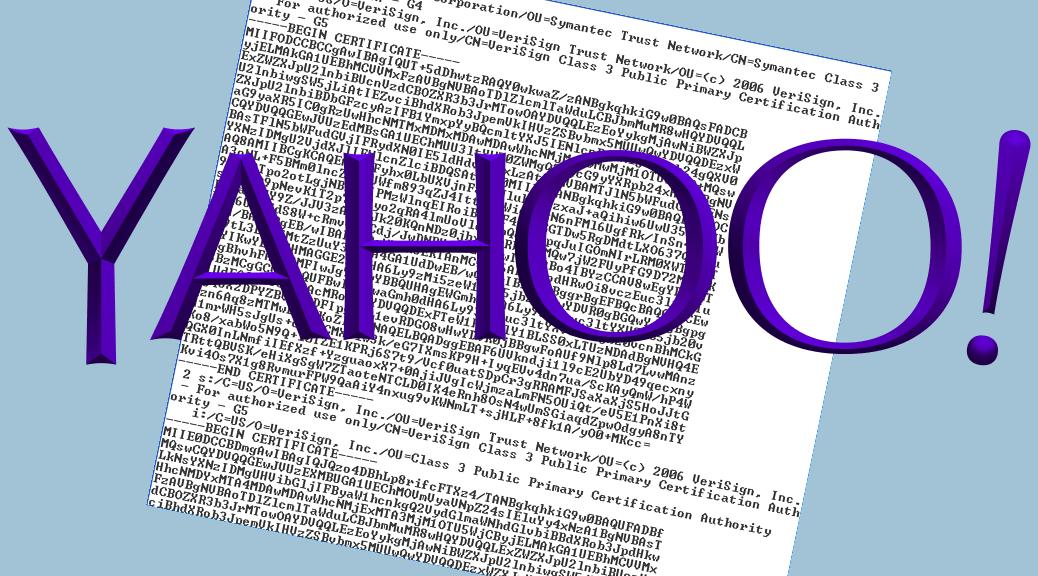 Fix Yahoo mail
