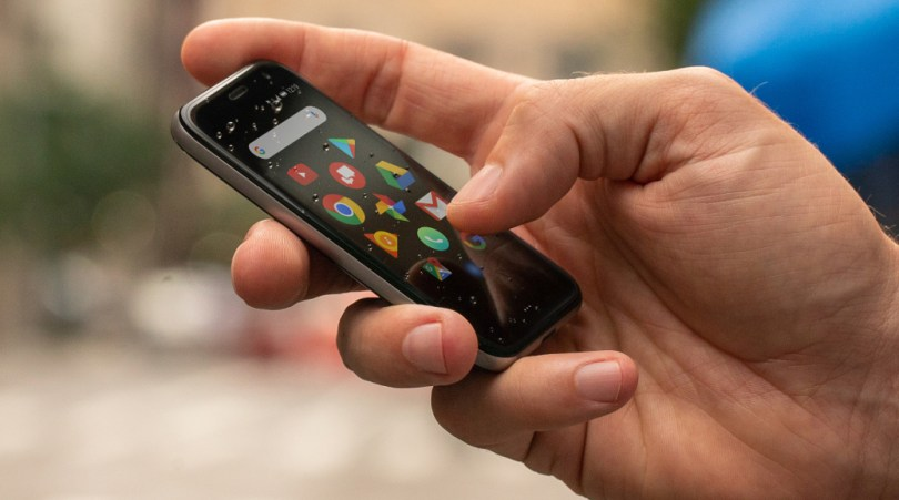 The New Palm phone.
