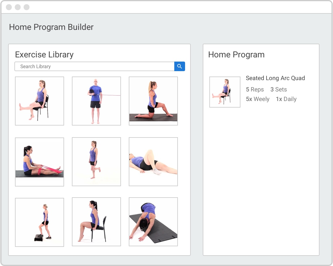 Exercise Program Home Exercise Program Physical Therapy