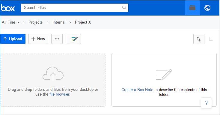 Box Project Folder Synchronization Example