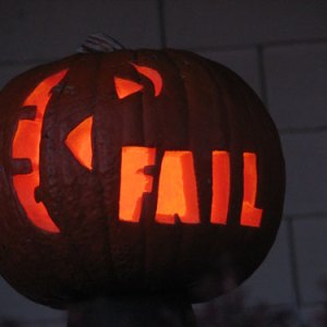 Fail pumpkin is fail