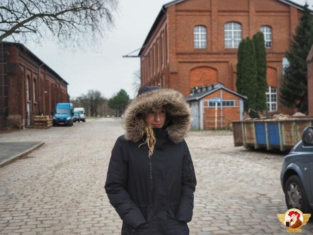 Nasza gospodyni i przewodniczka po Berlinie - niezastąpiona Magdalena.
