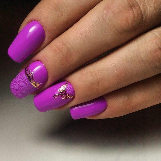 дизайн ногтей на 8 марта 1
