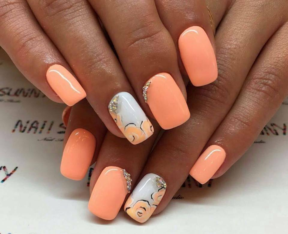 нежные ногти дизайн 7