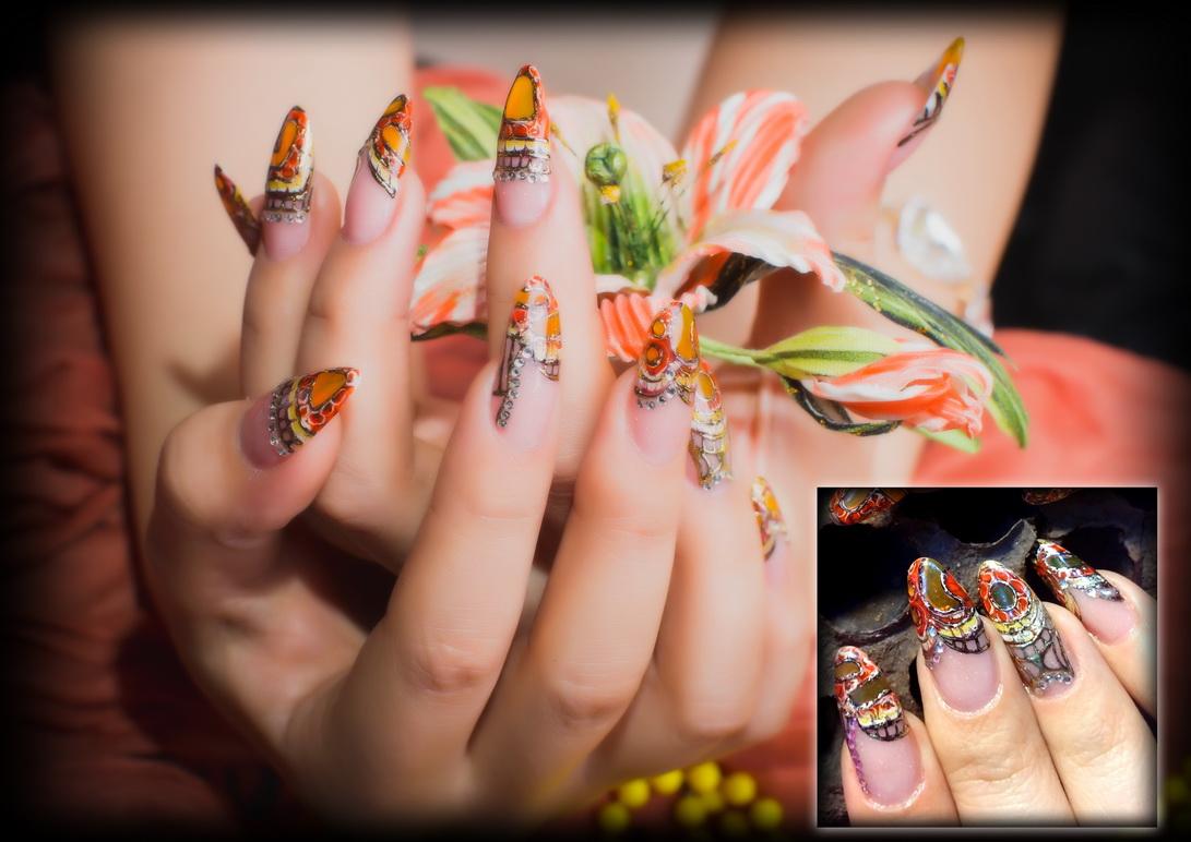 Новые картинки по наращиванию ногтей