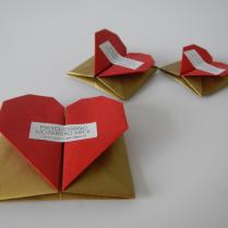 maxi, midi i mini origami kutijice za magnete