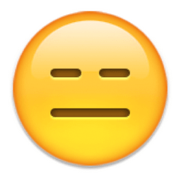 Image result for emoji straight face
