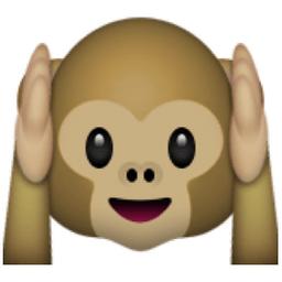 Image result for hear no evil emoji