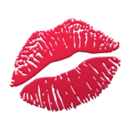 Image result for lips emoji