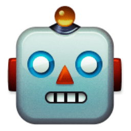 Image result for robot emoji