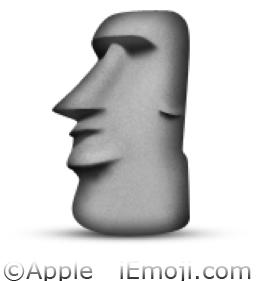Moyai Emoji U1F5FF