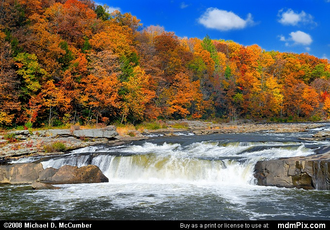 Fall Foliage Wallpaper Ohiopyle Falls Picture 004 October 21 2006 From