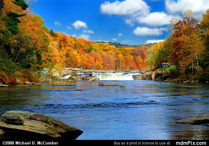 Wallpaper For Fall And Autumn Ohiopyle Falls Picture 007 October 21 2006 From