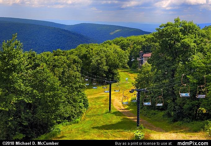 Mountain Ski Pennsylvania Map