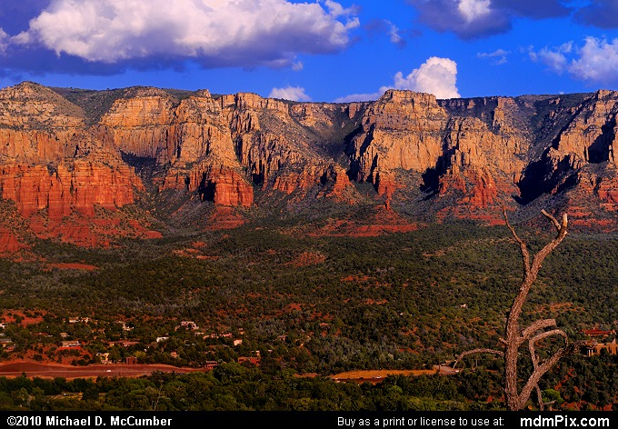 Mogollon Rim an Escarpments Edge at Sedona Picture