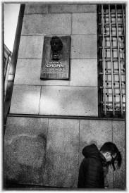 Chopin Plaque, Prague