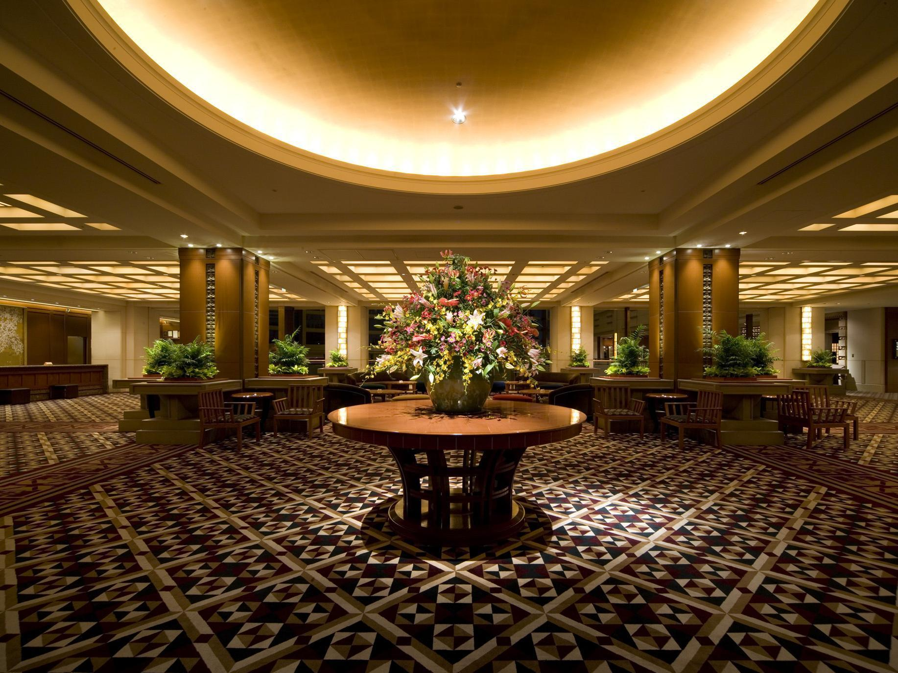 Wright Imperial Hotel Tokyo Lobby