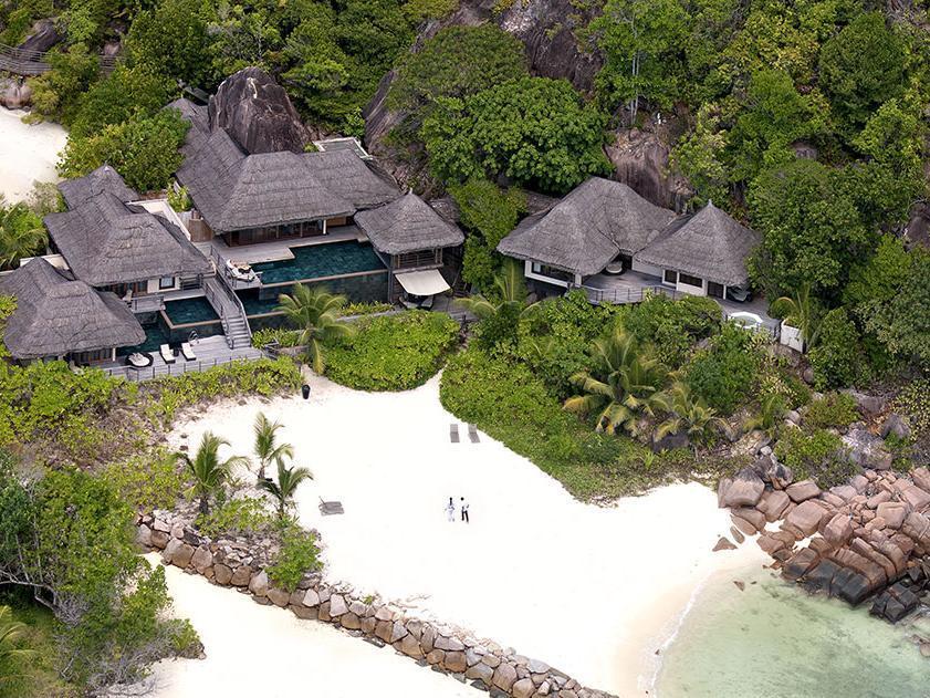 Hotel Near Anse Georgette Beach Praslin Island Seychelles