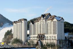 龍平度假村Greenpia公寓 Yongpyong Resort Greenpia Condo