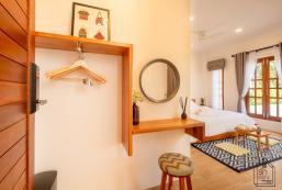 25平方米1臥室公寓 (海濱) - 有1間私人浴室 Rak Arun House  (King room with Pool View)