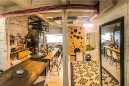 100平方米2臥室獨立屋(福岡) - 有1間私人浴室 DIY GUESTHOUSE CHILL OUT /BEACH BBQ HIKING CAFE