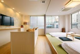 37平方米開放式公寓(福岡) - 有1間私人浴室 Charming Modern Japanese Room 8min walk Tenjin sta