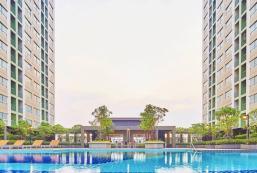 26平方米1臥室公寓 (暖武里市中心) - 有1間私人浴室 Lumpini Ville Nakhon In-Riverview/1 Bed Room BKK