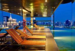 35平方米1臥室公寓 (巴太省) - 有1間私人浴室 360SKY POOL   SIAM SQUARE CENTRAL WORLD  CHIDLOM
