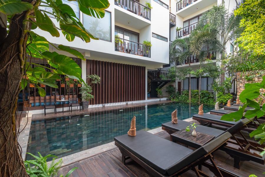 King Rock Boutique Hotel Area Pusat Kota Siem Reap Siem
