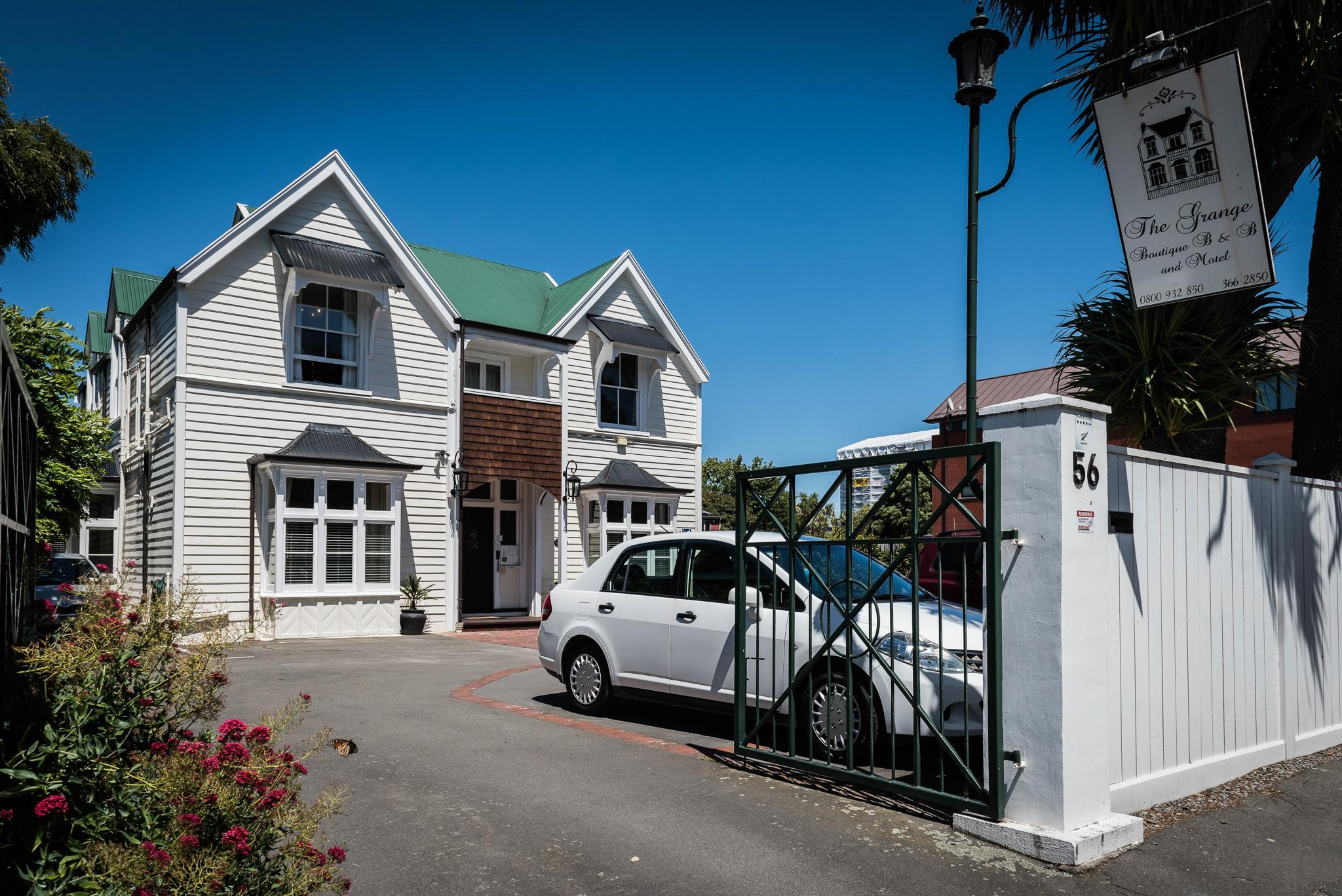 The Grange Boutique B And B Christchurch Booking Deals