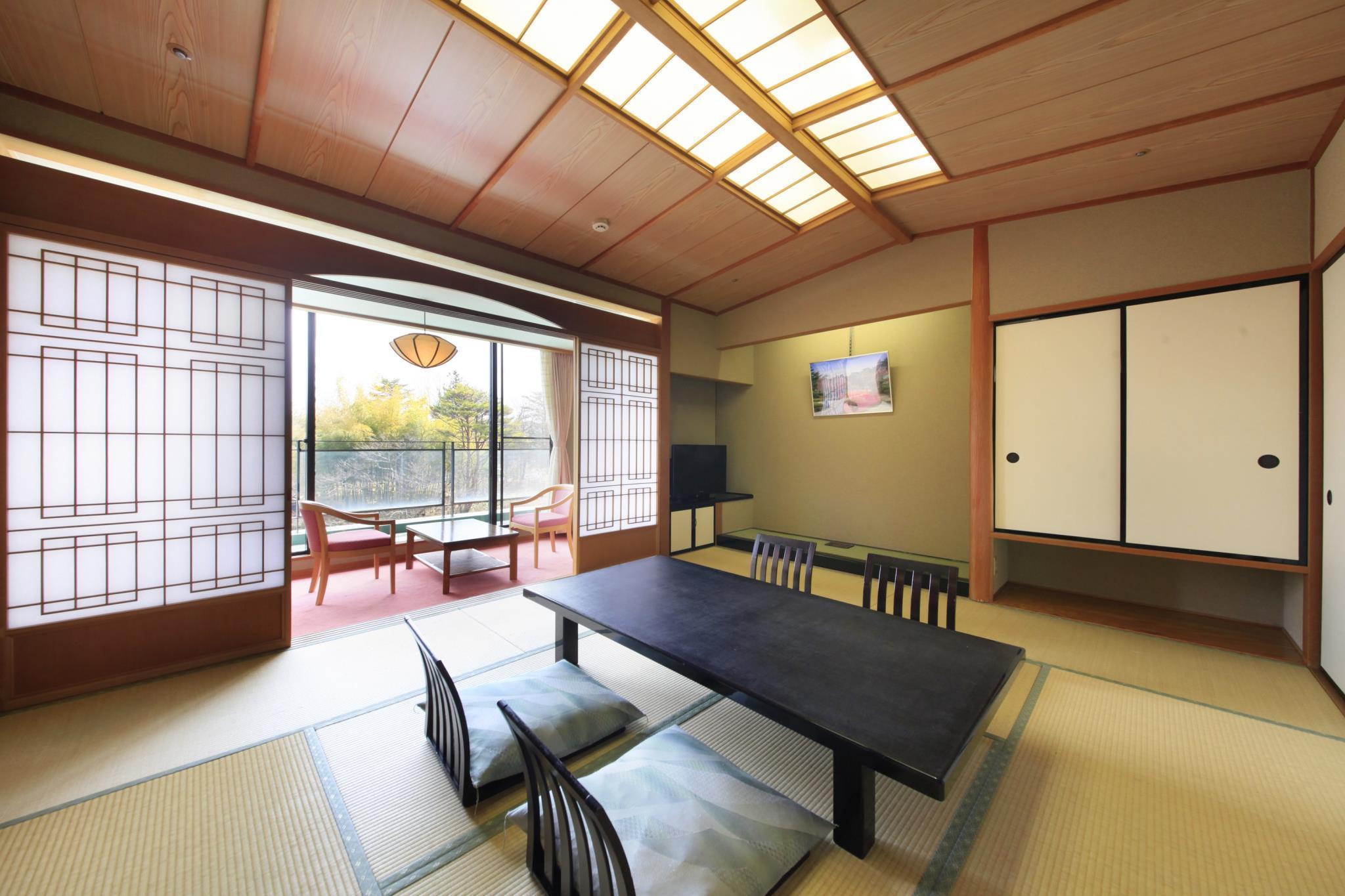 Kagaribinoyu Ryokusuitei Akiu Sendai Room Deals Photos