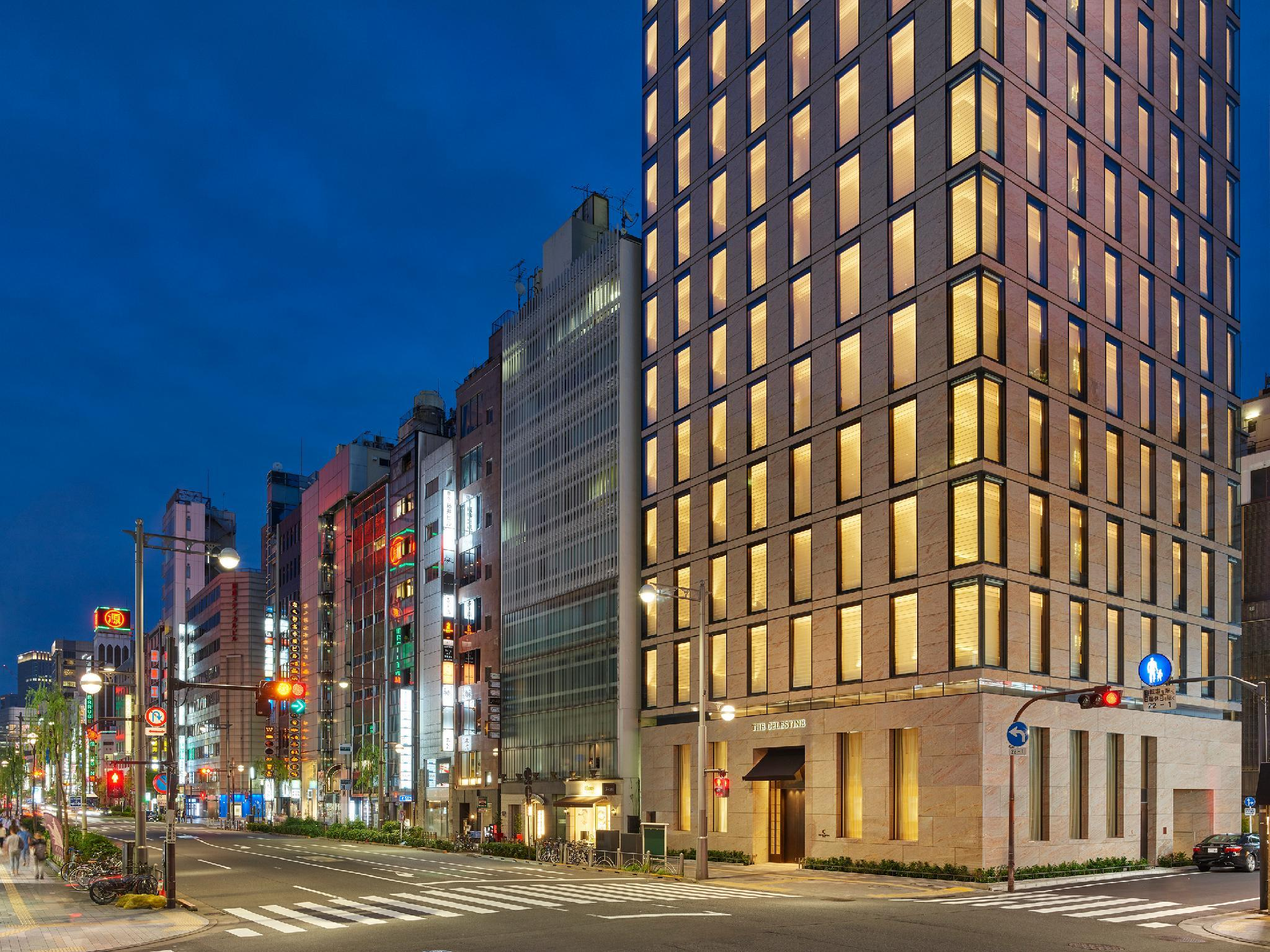 Ginza Map And Hotels In Ginza Area Tokyo