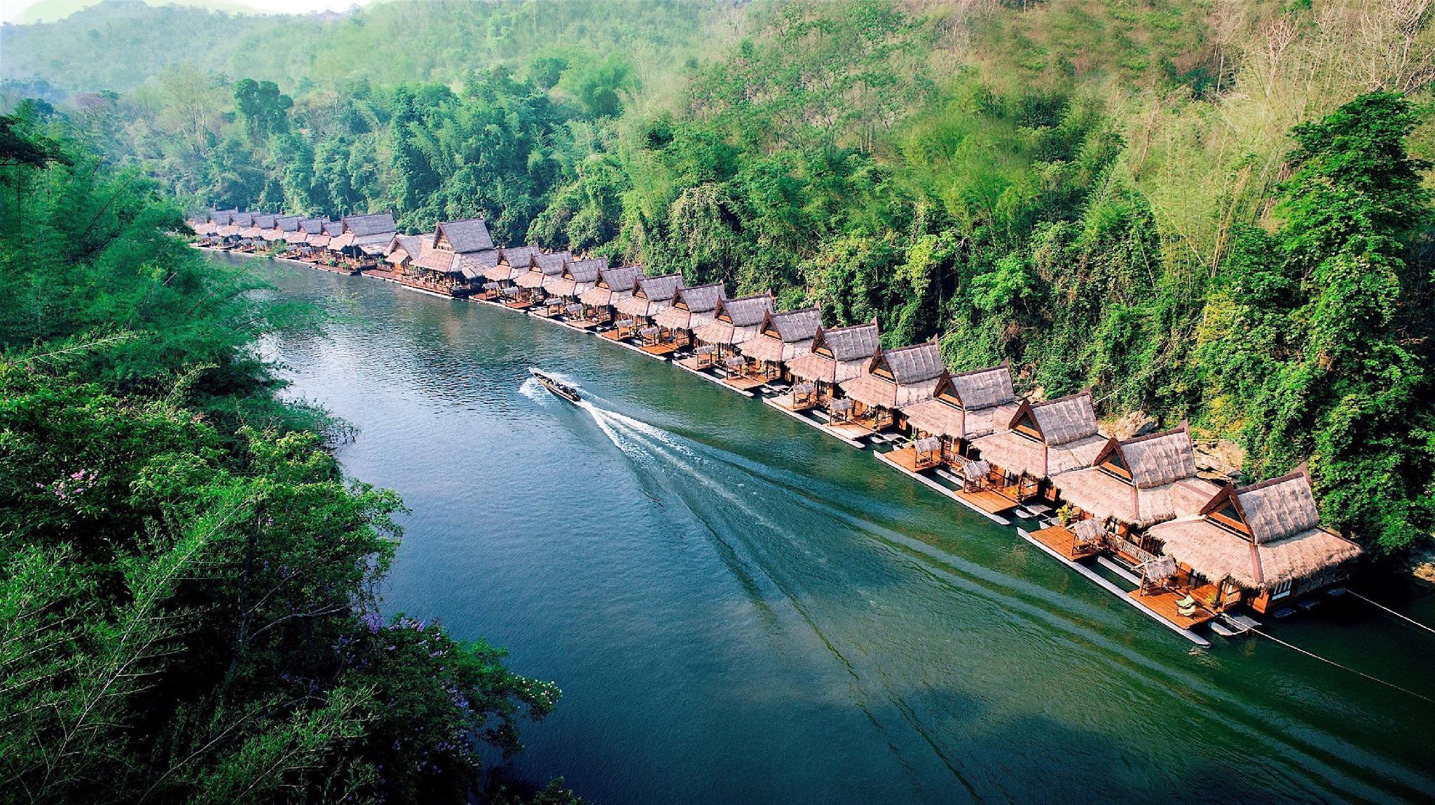 The Float House River Kwai Resort Sai Yok Kanchanaburi