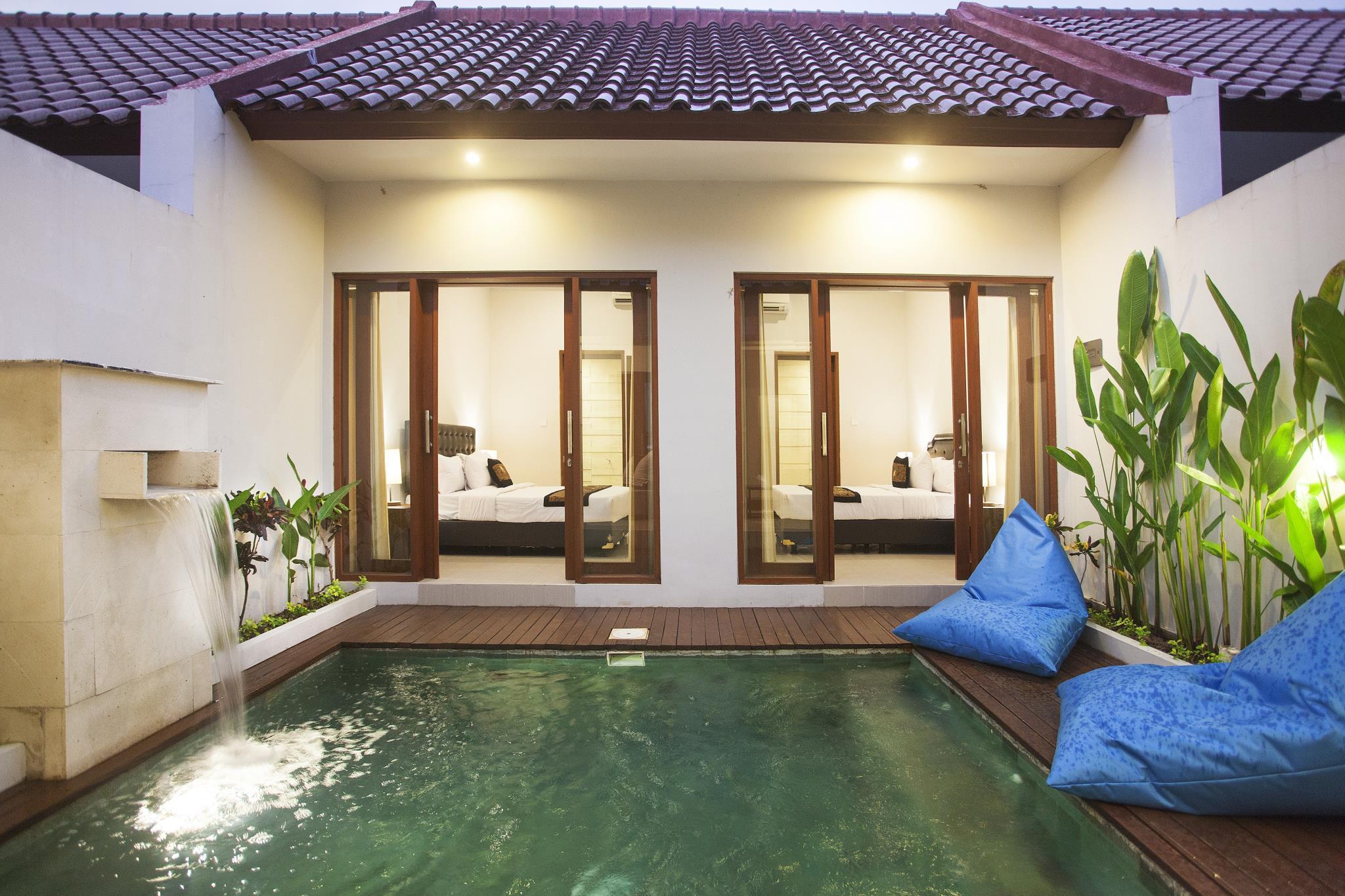 2 Bedroom Private Pool Villas Near Canggu Seminyak Bali