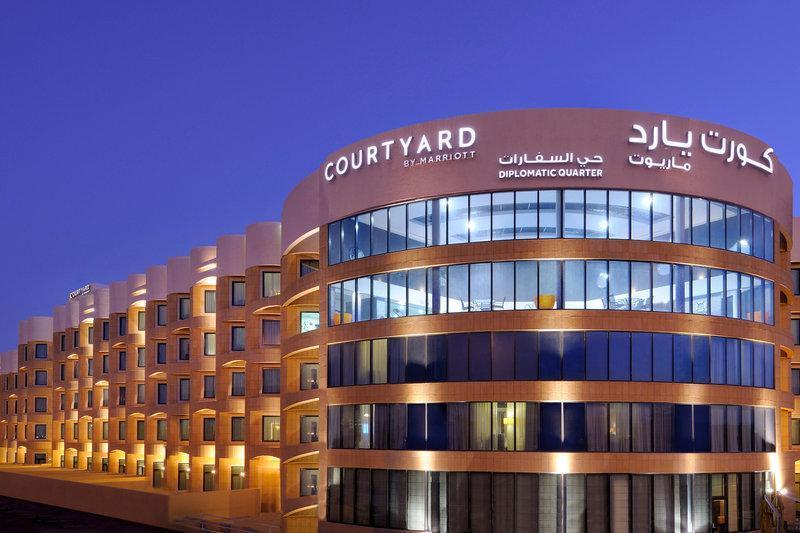 فندق كورت يارد الرياض الحي الدبلوماسي Courtyard Riyadh Diplomatic