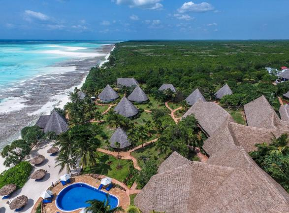 A View of the Nungwi Resort . Image Agoda