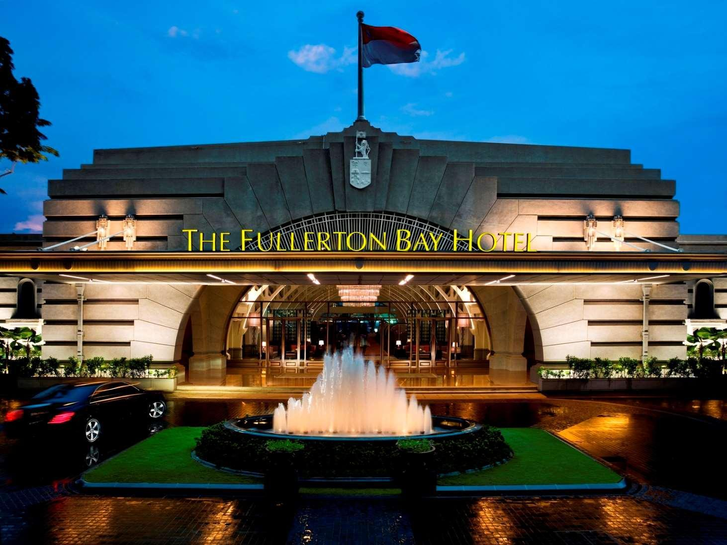 The Fullerton Bay Hotel In Singapore Room Deals Photos
